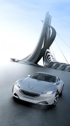 Peugeot SR1 - Architecture on