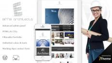 Eiffel - responsive WordPress Architecture Theme