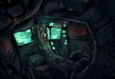 ArtStation - Cockpit, Hadi Jalali