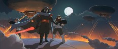 ArtStation - Star Wars - Darth Ghibli's Entrance, Lap Pun Cheung