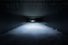 sinato illuminates interior with ethereal OLED installation