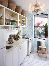 10 Examples of Wallpaper in the Kitchen: Just a Splash, Used Well Kitchen Inspiration Roundup | The Kitchn
