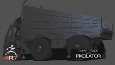 Modeling a Truck with Pixolator in ZBrush 4R7 - YouTube