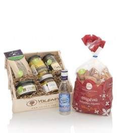 Ouzo appetizers | Food Gift Baskets Ideas | Pinterest