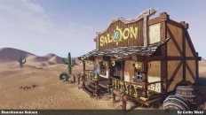 The Hearthstone Saloon - 2015 Blizzard Student Art Contest Submission - Polycount Forum