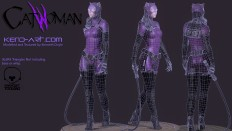 Catwoman - Polycount Forum