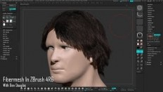Fibermesh in ZBrush 4R6 - YouTube