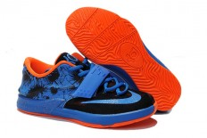 Nike Zoom Kevin Durant VII 7 Kids Team Orange/Black/Photo Blue Basketball Training Footwear
