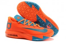 Nike Zoom KD 6 Total Orange/Neo Turquoise Nike Shoes (Mens)