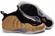 nike foamposites one men shoes 2010 black khaki