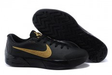 Nike KD Trey 5 II Kevin Durant Black with Gold Mens Training Sneakers