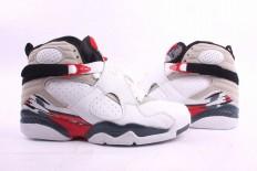 retro jordan 8 white and black for men