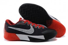 Red/Black/White Mens Nike Brand Zoom KD Trey 5 II Basketball Shoes