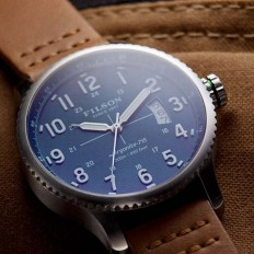Filson x Shinola Watch Collection - Luxuryes