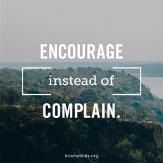 Encourage instead of complaining | Quotes – Inspirational on Inspirationde