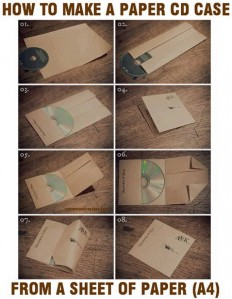 How To Make A CD Case Out Of Paper Easy DIY | RemoveandReplace.com