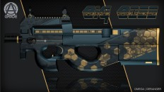 P90 | Big Boss - Polycount Forum