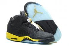 Athletic Nike Black/Yellow Jordan V 3Lab5 Footwear-Men Size