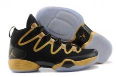 """Nike Brand Jordan 28 SE Sneakers with Black and Gold- Jordan """"Award Season""""- Mens"""