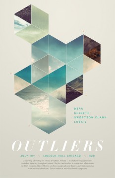 Business Cards / Outliers upcoming Film Premiere » ISO50 Blog – The Blog of Scott Hansen (Tycho / ISO50)