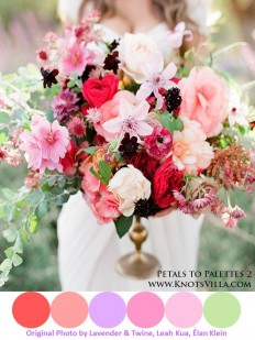 Red, Pink and Purple Inspiration| Petals to Palettes 2