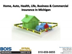 Home, Auto, Health, Life, Business & Commercial Insurance In MIchigan