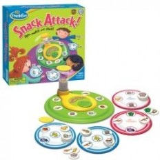 "AWARD WINNING! ""Snack Attack"" Game, Memory Spin, Match and Stack!-The..."