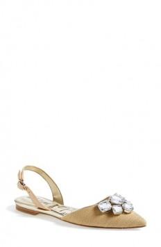 Sam Edelman 'Reece' Slingback Pointy Toe Flat (Women) | Nordstrom