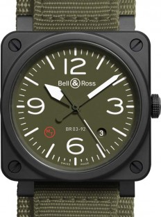 Bell & Ross BR03 Military Type Watch - Luxuryes