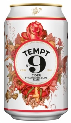 Tempt Cider - The Dieline: The World's #1 Package Design Website -