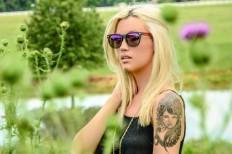 WayFLYer Redwood Violet Polarized Sunglasses | The Gadget Flow