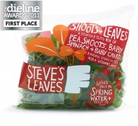 The Dieline Awards 2011: First Place - Steve'sLeaves - The Dieline: The World's #1 Package Design Website -