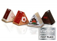 The Dieline Awards 2011: First Place - Kleenex DessertWedges - The Dieline: The World's #1 Package Design Website -