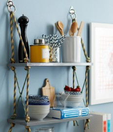 Weekly Wrap Up + Rope Shelves DIY Project | Design*Sponge