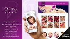 Glitter - WordPress theme for nail salons