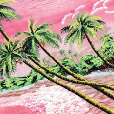 Tshirt Hawaïen Rose / Pickpocketparis