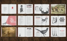 Brochure Layout / Hunt & Heritage Brochure - by Cecilia Hedin