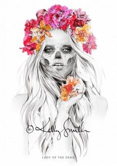 Kelly Smith – Illustration on Inspirationde