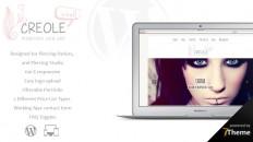 Creole - WordPress Theme for Piercing Studios