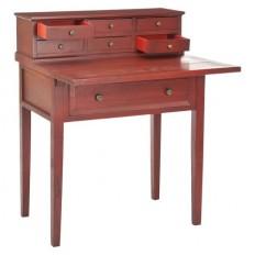 Safavieh Catalonia Writing Desk - Cherry : Target