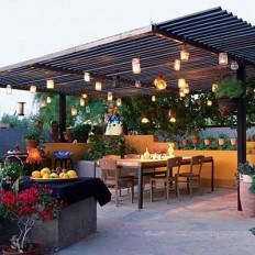 Modern Outdoor Patio Lighting Ideas | Room Decorating Ideas : Room Decorating Ideas