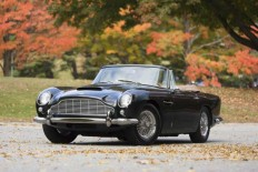 1965 Aston Martin DB5 Convertible Sells For Staggering $2.15 Million - Luxuryes