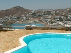 Location de vacance en Grèce - Mykonos Ornos - Charmante villa dans un complexe de luxe privé de Vango-estates.com