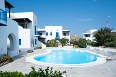 Location de vacance en Grèce - Mykonos Ornos - Ornos - petit appartement dans un complèxe privé de Vango-estates.com