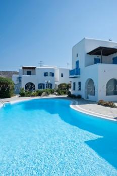 Location de vacance en Grèce - Mykonos Ornos - Maison de complexe privé de Vango-estates.com
