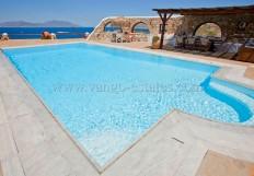 Location de vacance en Grèce - Mykonos Kanalia - Villa de luxe privée avec vue sur mer et piscine - Mykonos de Vango-estates.com