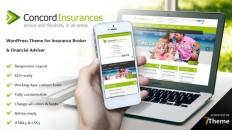 Concord - a WordPress Insurance Agency Theme