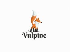 Vulpine / Logo Design by simc