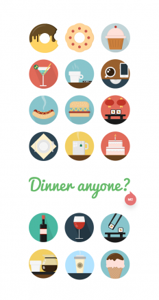 20 Food & Drink Icons | Creative Tail