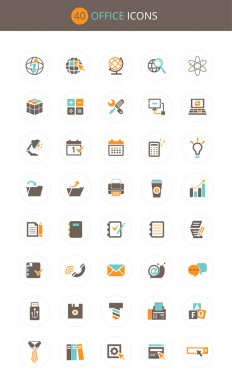Free Download Office Icon Set